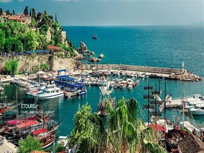 تور آنتالیا ترکیه ویژه نوروز 1400