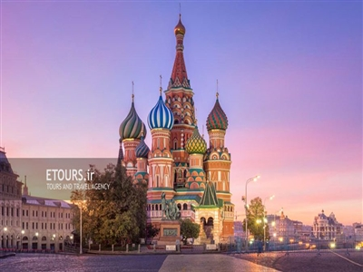 تور مسکو و سن پترزبورگ روسیه