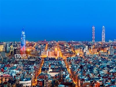 تور پاریس فرانسه و بارسلون اسپانیا