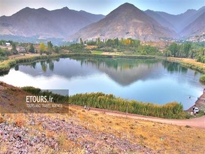 قلعه الموت و دریاچه اوان