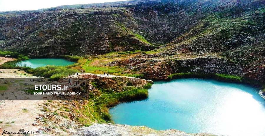 دریاچه دوقلو سیاه گاو آبدانان