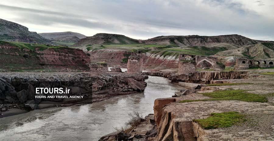 پل گاومیشان دره شهر در ایلام